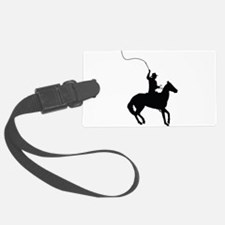 Horseman with Whip Luggage Tag