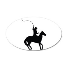Horseman with Whip Wall Decal