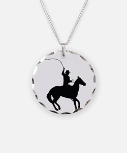 Horseman with Whip Necklace