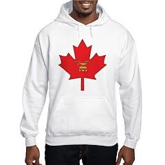 Canadian Shriners Maple Leaf Hoodie