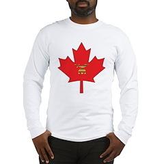 Canadian Shriners Maple Leaf Long Sleeve T-Shirt