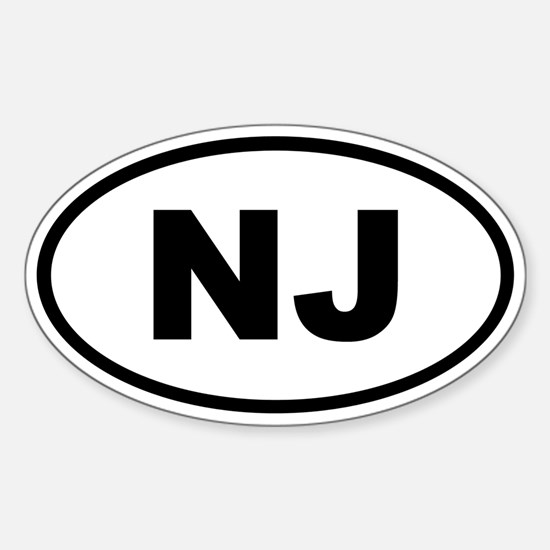 New Jersey NJ Decal