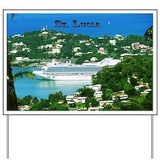 Cruise Ship Yard Sign