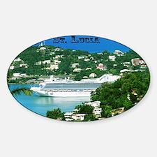 Cruise Ship Sticker (Oval)