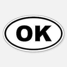 Oklahoma OK Decal