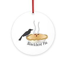 Blackbird Pie Ornament (Round)
