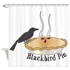 Blackbird Pie Shower Curtain