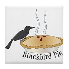 Blackbird Pie Tile Coaster