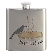 Blackbird Pie Flask
