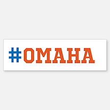 Omaha Bumper Bumper Sticker