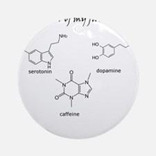 A few of my favourite substances Ornament (Round)