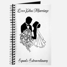 Love Plus Marriage Equals Extraodinary Journal