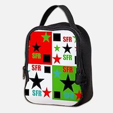 SFR-Logo 4 way logo Neoprene Lunch Bag