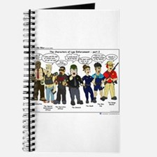 Characters of Law Enforcement 2 Journal