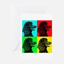 Poodle Pop Art Greeting Cards (Pk of 20)