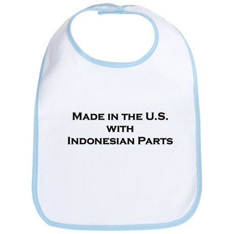 Made in the U.S. with Indonesian Parts Bib