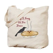 Sing A Song Of Six Pence Tote Bag