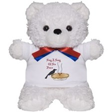 Sing A Song Of Six Pence Teddy Bear