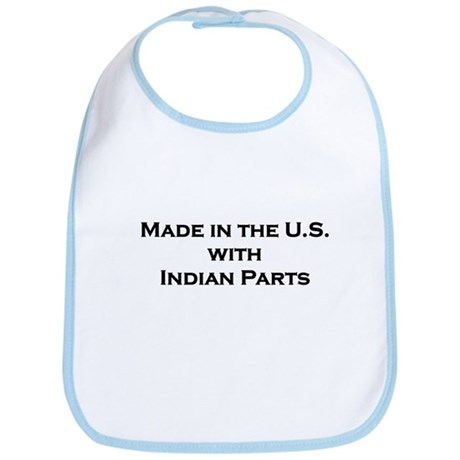 Made in the U.S. with Indian Parts Bib