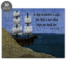 A Ship in Harbor is Safe Puzzle