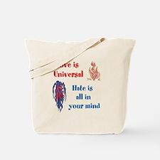 Love is Universal Tote Bag