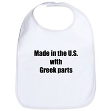 Made in the U.S. with Greek Parts Bib
