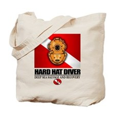 Hard Hat Diver Tote Bag