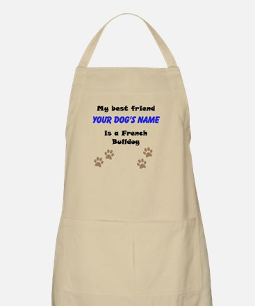 Custom French Bulldog Best Friend Apron