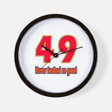 49 Never Looked So Good Wall Clock