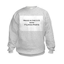Made in the U.S. with Filipino Parts Sweatshirt