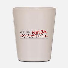 Job Ninja X-Ray Tech Shot Glass