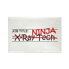 Job Ninja X-Ray Tech Rectangle Magnet