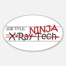 Job Ninja X-Ray Tech Decal