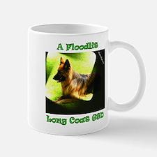 A Floodlit Long Coat GSD Mug