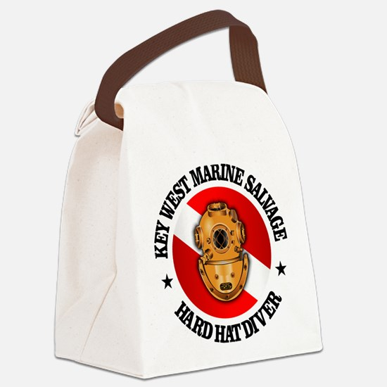 Key West Marine Salvage Canvas Lunch Bag