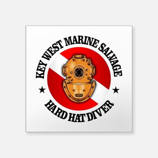 Key West Marine Salvage Sticker