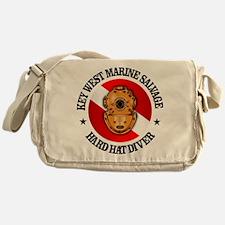 Key West Marine Salvage Messenger Bag