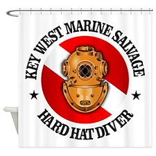 Key West Marine Salvage Shower Curtain