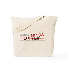 Job Ninja Writer Tote Bag