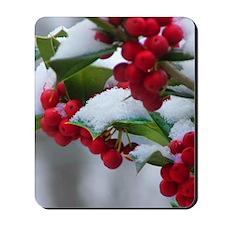 Christmas Berries  Mousepad