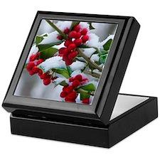 Christmas Berries Keepsake Box