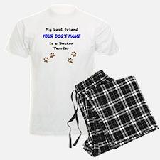 Custom Boston Terrier Best Friend Pajamas
