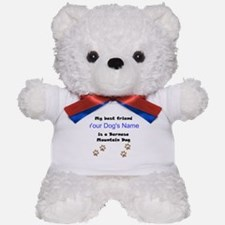 Custom Bernese Mountain Dog Best Friend Teddy Bear