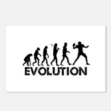 Evolution of a Football Player Postcards (Package