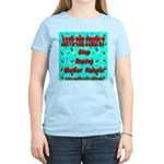 Save the firefly! Women's Pink T-Shirt