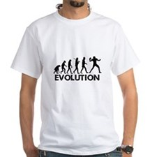 Evolution of a Football Player T-Shirt