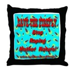 Save the firefly! Throw Pillow