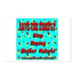 Save the firefly! Postcards (Package of 8)