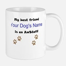 Custom AmStaff Best Friend Mug