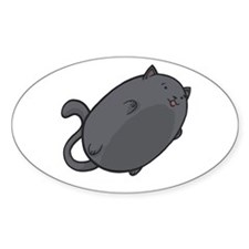 Flying Cat - Russian Blue Decal